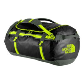 The North Face Base Camp 95L Large Duffel - Black/Spruce Green