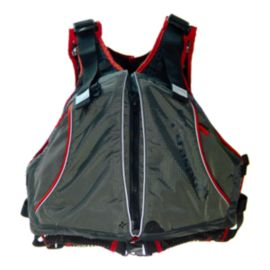 Extrasport Evolve Men's PFD - Grey / Charcoal / Red