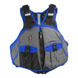Extrasport Eon PFD - Gray/Royal Blue
