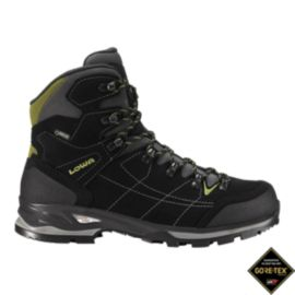 Lowa Men's Vantage GTX Mid Hiking Boots - Black/Green