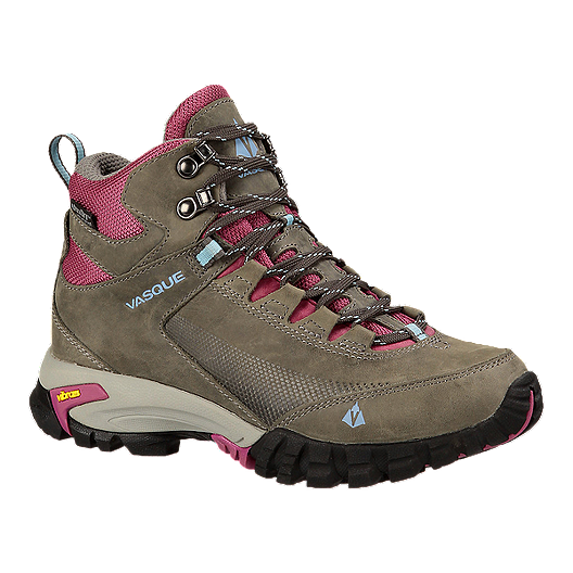 d415e818c72 Vasque Women's Talus Trek UltraDry Day Hiking Boots - Brown/Red ...
