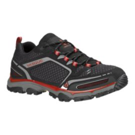 Vasque Men's Inhaler II Low Hiking Shoes - Black/Red