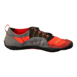 Vibram Men's FiveFingers Trek Ascent Hiking Shoes - Grey/Red