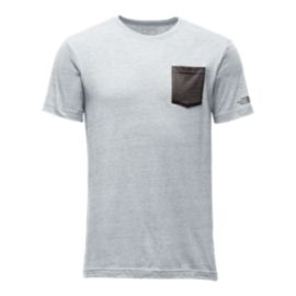 The North Face Tri-Blend Men's Short Sleeve Pocket Tee