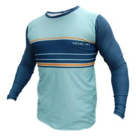 Level 6 Coastal Men's Long Sleeve Rash Guard