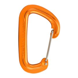 Black Diamond Neutrino Wiregate Carabiner - Orange