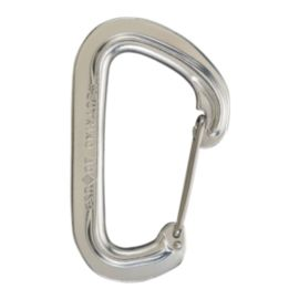 Black Diamond Neutrino Wiregate Carabiner - Polished