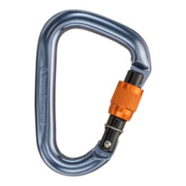 Black Diamond Mini Pearabiner Screwgate Carabiner - Dark Grey