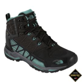 The North Face Women's Ultra GTX Surround Mid Day Hiking Boots - Black/Blue