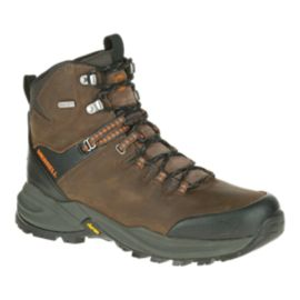 Merrell Men's Phaserbound Waterproof Hiking Boots - Clay/Orange