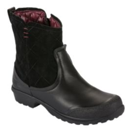 The North Face Women's Thermoball Metro Shorty Winter Boots - Black/Red