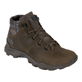 The North Face Men's Thermoball Versa Chukka Winter Boots - Brown/Grey