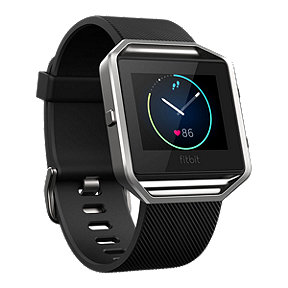 Fitbit Blaze Fitness Tracker - Black/Silver Small