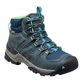 Keen Women's Gypsum II Mid Waterproof Day Hiking Boots - Navy
