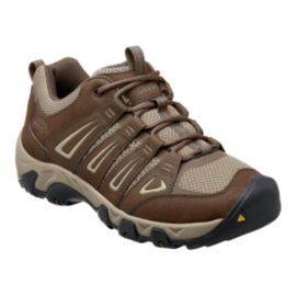 Keen Men's Oakridge Hiking Shoes - Brown