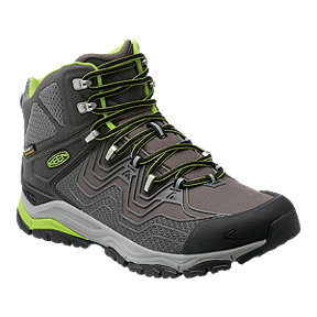Keen Men's Aphlex Mid Waterproof Day Hiking Boots - Black/Gargoyle