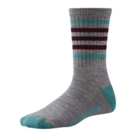 Smartwool Women's Striped Hiking Light Crew Socks