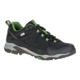 Merrell Men's Tahr Bolt Waterproof Hiking Shoes - Black/Green