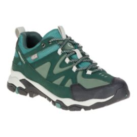 Merrell Women's Tahr Bolt Waterproof Hiking Shoes - Green
