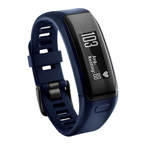 Garmin vívosmart HR Activity Tracker - Blue Regular