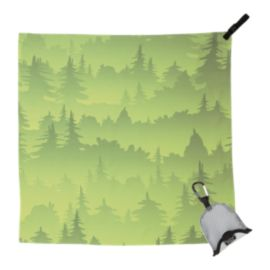 PackTowl Nano Towel - Green Trees