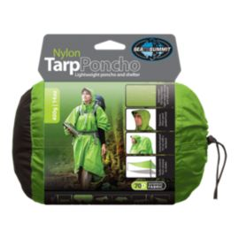 Sea to Summit Nylon Tarp/Poncho 70D Waterproof - Apple Green