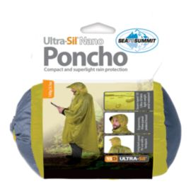 Sea to Summit Ultra-Sil Nano 15D Tarp/Poncho - Orange