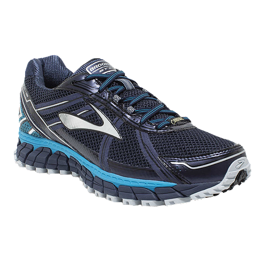 c48930371e5 Brooks Men s Adrenaline ASR™ 12 GTX Trail Running Shoes - Navy Blue Silver