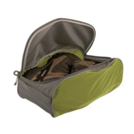 Sea to Summit Travelling Light Shoe Bag - Large Lime