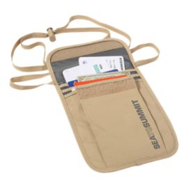 Sea to Summit Travelling Light Neck Pouch - Sand