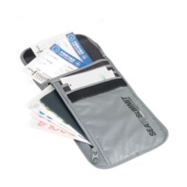 Sea to Summit Travelling Light Neck Wallet - Grey