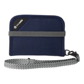 Pacsafe RFIDsafe V50 Compact Wallet - Navy Blue