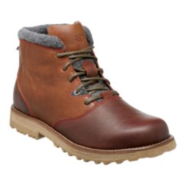 Keen Men's The Slater Waterproof Casual Boots - Brown