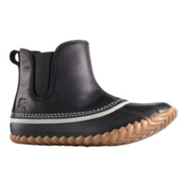Sorel Women's Out N About Leather Chelsea Boots - Black