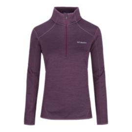 Columbia Sapphire Trail Women's Half-Zip Fleece Top