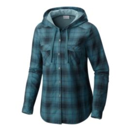 Columbia Times Two Hooded Women's Long Sleeve Shirts