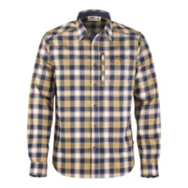Fjällräven Fjällglim Men's Long-Sleeve Plaid Shirt