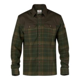 Fjällräven Granit Long Sleeve Men's Plaid Shirt