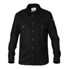 Fjällräven Övik Wool Long Sleeve Men's Shirt