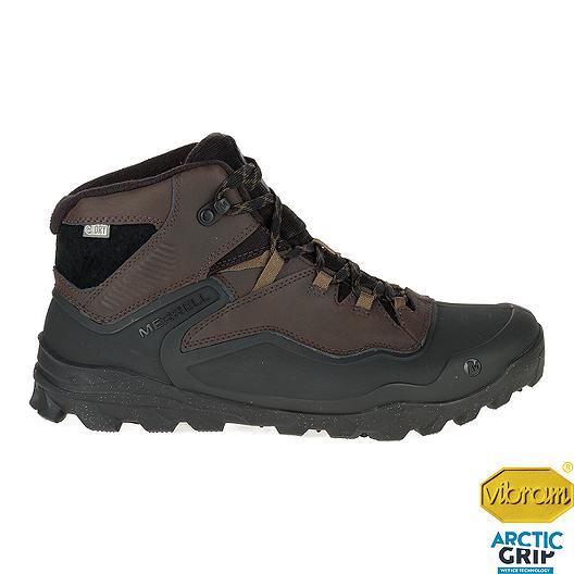 836ccb4c55a Merrell Men's Overlook 6 Ice+ Waterproof Winter Boots - Ash