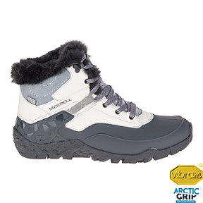 Merrell Women's Aurora 6 Ice+ Waterproof Winter Boots - Ash