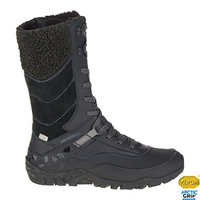 Merrell Women's Aurora Tall Ice+ Waterproof Winter Boots - Black