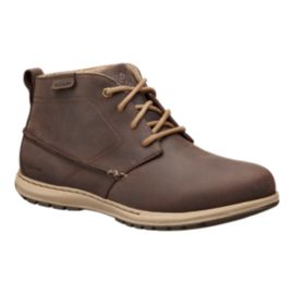Columbia Men's Davenport Waterproof Leather Chukka Boots - Brown