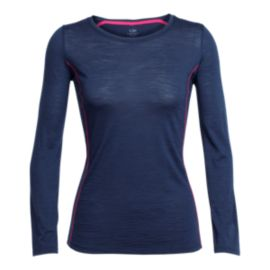 Icebreaker Aero Long Sleeve Women's Crew Top