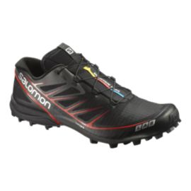 Salomon Men's S-Lab Speed Trail Running Shoes - Black/Red