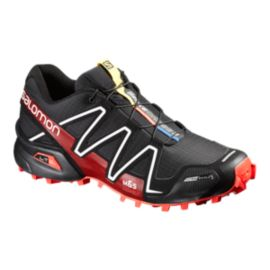 Salomon Men's Spikecross 3 ClimaShield Trail Running Shoes - Black/Red