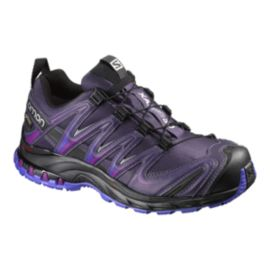 Salomon Women's XA Pro 3D GTX Trail Running Shoes - Purple/Black