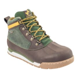 Forsake Men's Duck  Boots - Brown/Forest Green