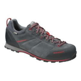 Mammut Men's Wall Guide Low GTX Hiking Shoes - Grey/Red