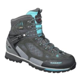Mammut Women's Ridge High GTX Hiking Boots - Grey/Blue